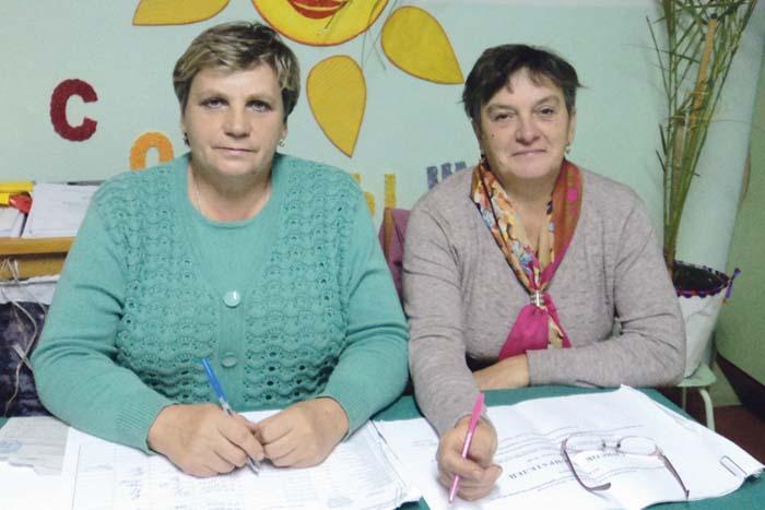 Валентина Лопатина и Валентина Гурьянова