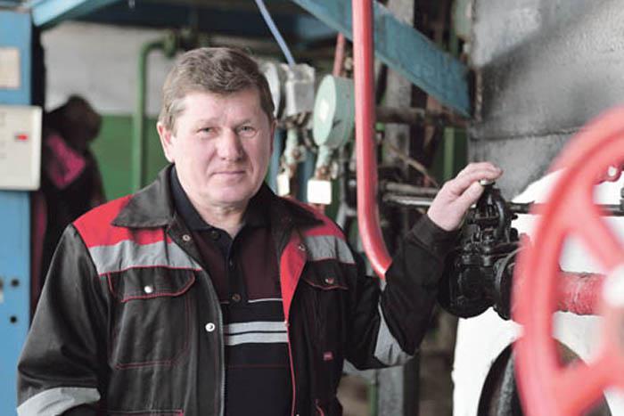 Начальник Выездновской котельной ООО «Тепловые сети Арзамасского района» В.К. Быстров