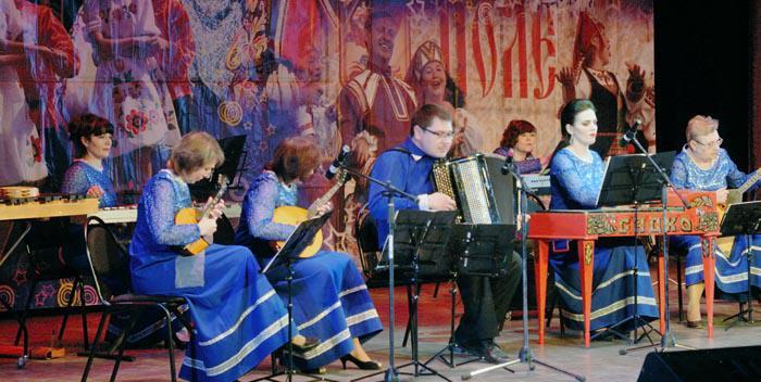 Выступление ансамбля народных инструментов «Садко»