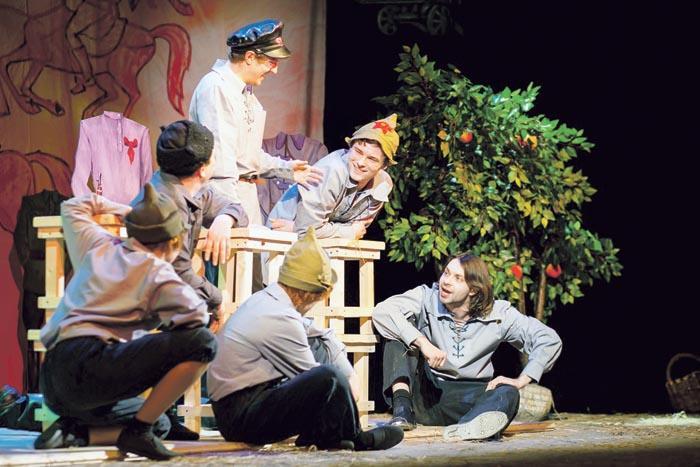 Сцена из спектакля «Другая жизнь мне не нужна»