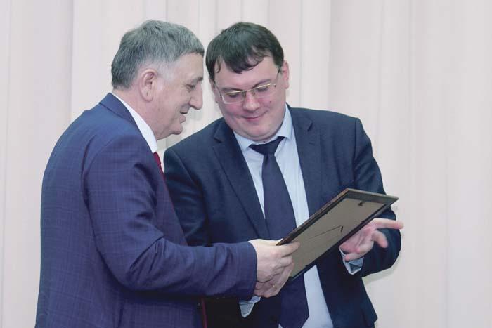 Мэр Арзамаса А.А. Щелоков – на церемонии торжественного награждения