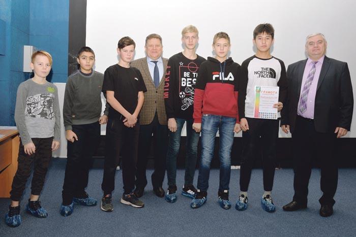 Победители районных соревнований по мини-футболу – команда Березовской школы