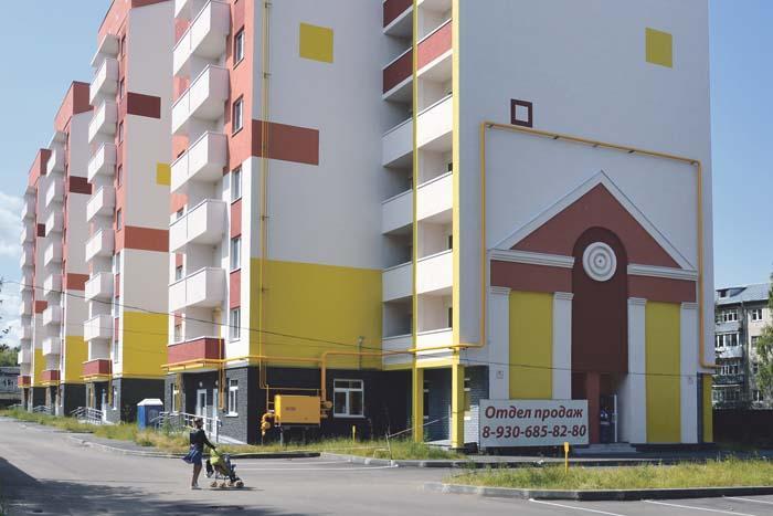 Многоквартирный дом на ул. Матросова ждет новоселов
