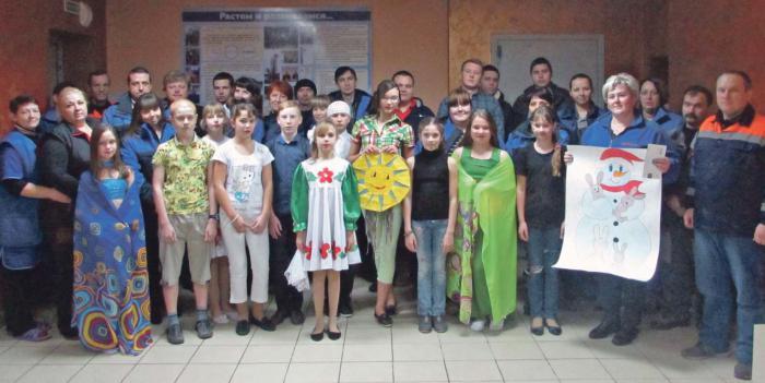 Учащиеся подшефной Тумановской школы – в гостях у работников ООО «АСТ-Регион»