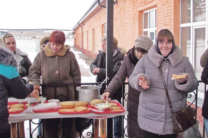 Праздник Масленицы был организован 16 февраля для работников предприятия силами местной столовой
