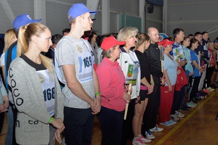 Парад участников спартакиады ВФССК ГТО