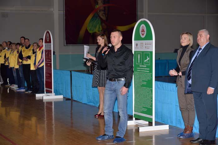 К участникам соревнований обращается чемпион мира и Европы А.В. Сироткин