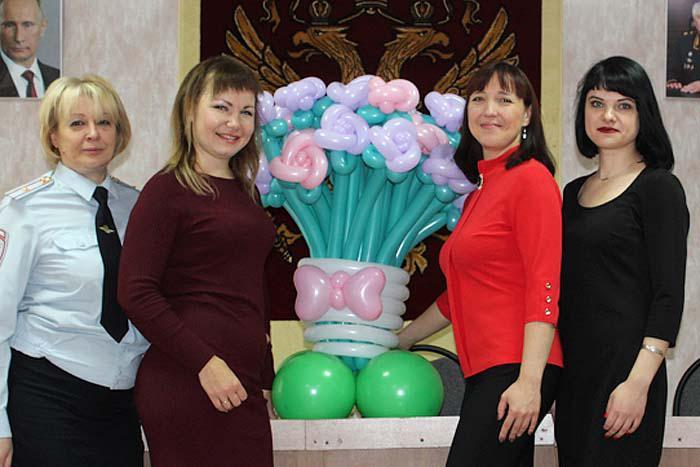 В отделе дознания ОМВД России по Арзамасскому району работают представители прекрасного пола