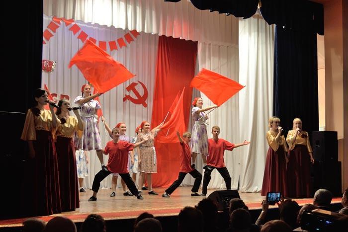 На торжественном мероприятии в Арзамасском районе, посвященном 100-летию комсомола