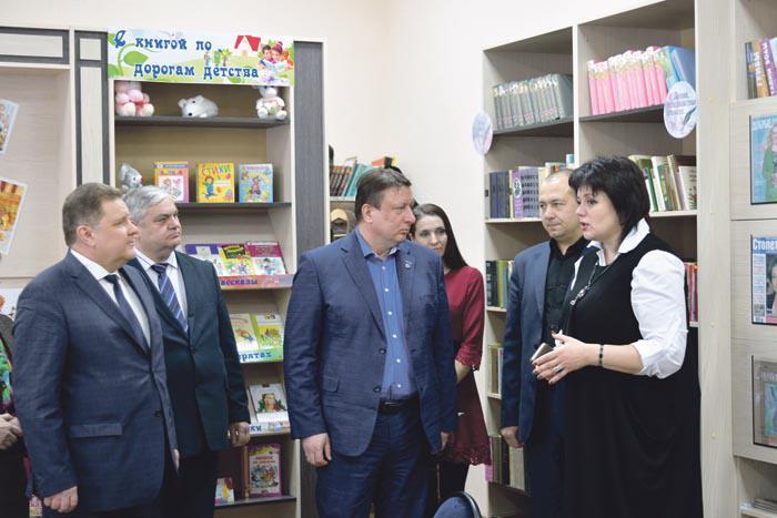 Кирилловская сельская библиотека открылась после капитального ремонта