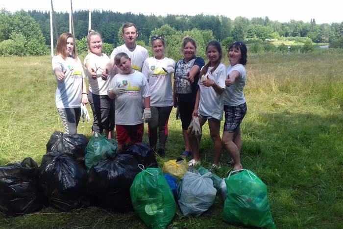 Началом очного этапа конкурса «Зеленый маршрут» стало участие 14 июля во Всероссийском субботнике на экологических тропах.
