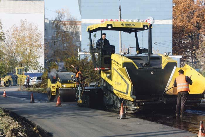 Завершаются ремонтные работы автодороги по улице Чехова