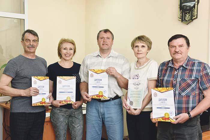 Сергей Жевакин, Марина Гришина, Дмитрий Князьков, Валентина Домнина и Александр Беляков