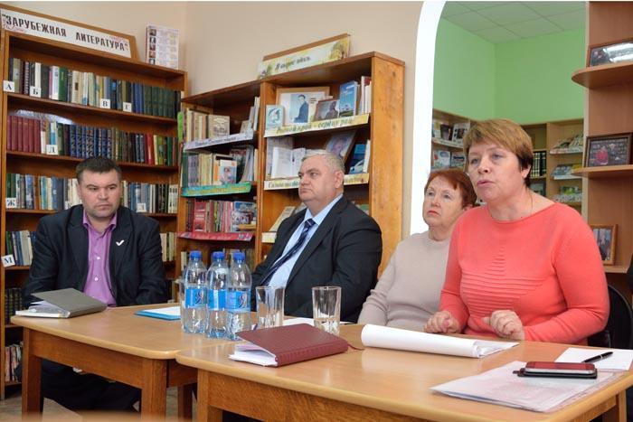 Встреча руководства района с активом Абрамовского сельсовета