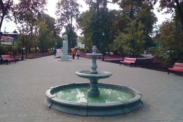 Сквер М. Горького