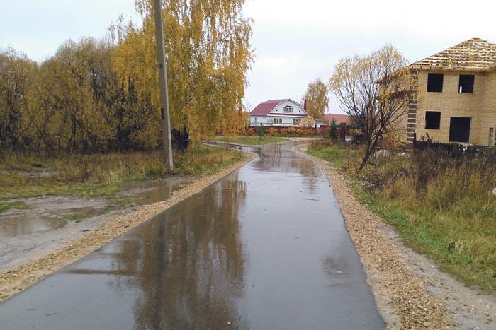 Капитально отремонтирована дорога по улице Суханова в Кирилловке