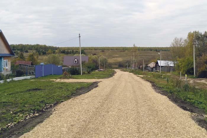 Капитально отремонтирована дорога по улице Трудовой в Саблукове
