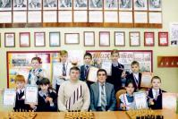 Команда шахматистов района – победители регионального турнира среди сельских школьников