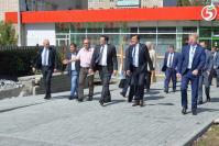 Г.С. Никитин ознакомился с реконструкцией площади Мира в рамках программы «Комфортная городская среда»