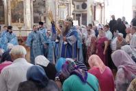Митрополит Нижегородский и Арзамасский Георгий совершил Божественную литургию в Выездновском Смоленском соборе.