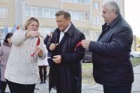 Символическую ленточку перерезали руководители района и Березовской сельской администрации