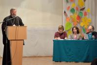 С приветственным словом к участникам торжественного мероприятия обратился протоирей Адрей Борисов