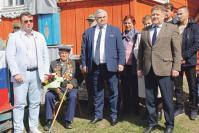 И.С. Нефедьев и участники торжественной церемонии