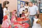 Семья Макаровых на районном празднике