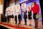 Победительница конкурса Ирина Самохвалова со своими воспитанниками